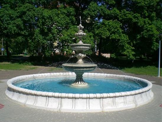 Springbrunnen aus  Karlsruhe