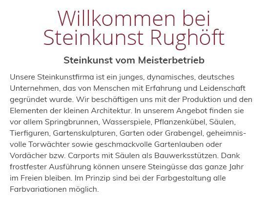 Steinkunst für  Aalen, Hüttlingen, Essingen, Oberkochen, Neuler, Rainau, Heuchlingen und Westhausen, Abtsgmünd, Mögglingen