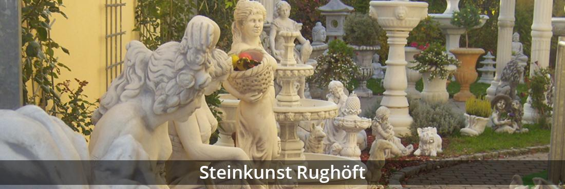 Stuckateurmeister Oberkochen - Rughöft: Steinkunst, Buddhas
